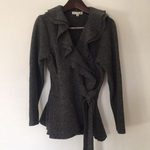 Marisa Christina Belted Wool Jacket